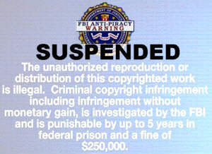 FBI Advisory - we enforce the law only when it suits our ends