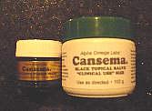 cansema black salve instructions