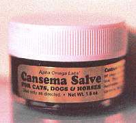 Cansema Salve for Cats, Dogs & Horses