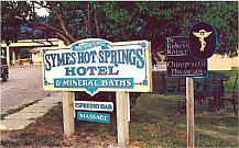 The Historic Symes Hot Springs Hotel - Hot Springs, Montana