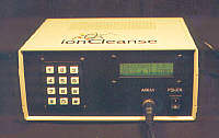 Ion Cleanse - Control Panel