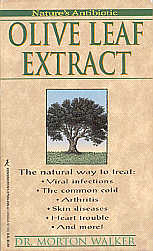 Olive Leaf Extract - Front Cover