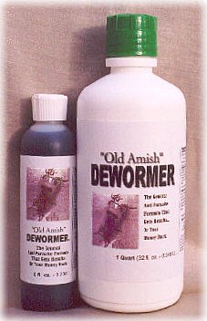 Old Amish Dewormer